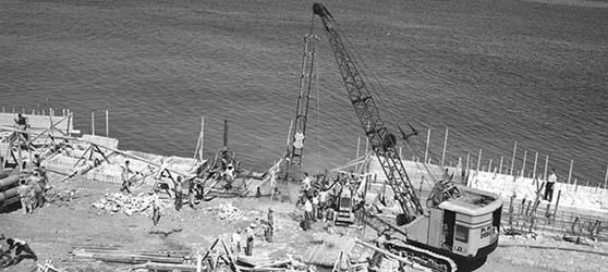 Construccion Malecon Habana